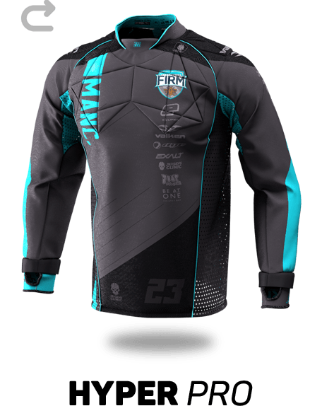 Hyper Pro Custom Paintball Jersey - Front View