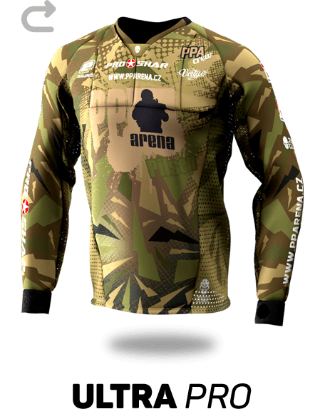 Ultra Pro Custom Paintball Jersey - Front View