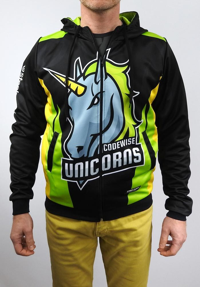 100% Customized Printed Esport Zip Hoodie, Jacket or Pullover