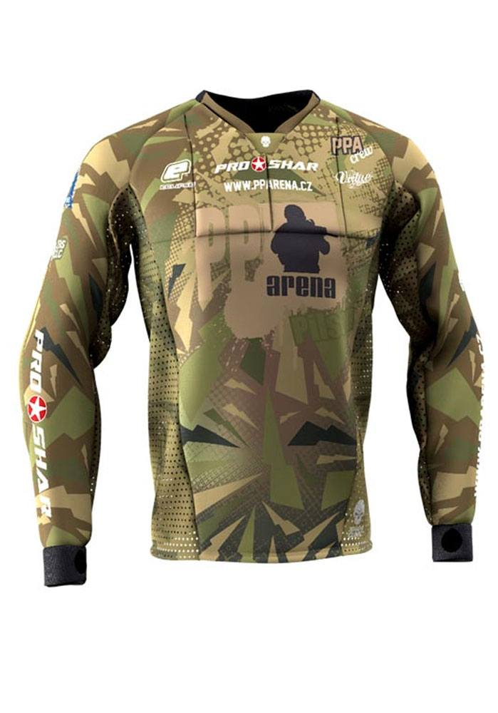 Ultra Pro - 100% Personalized, padded Custom Paintball Jersey at Best Price!